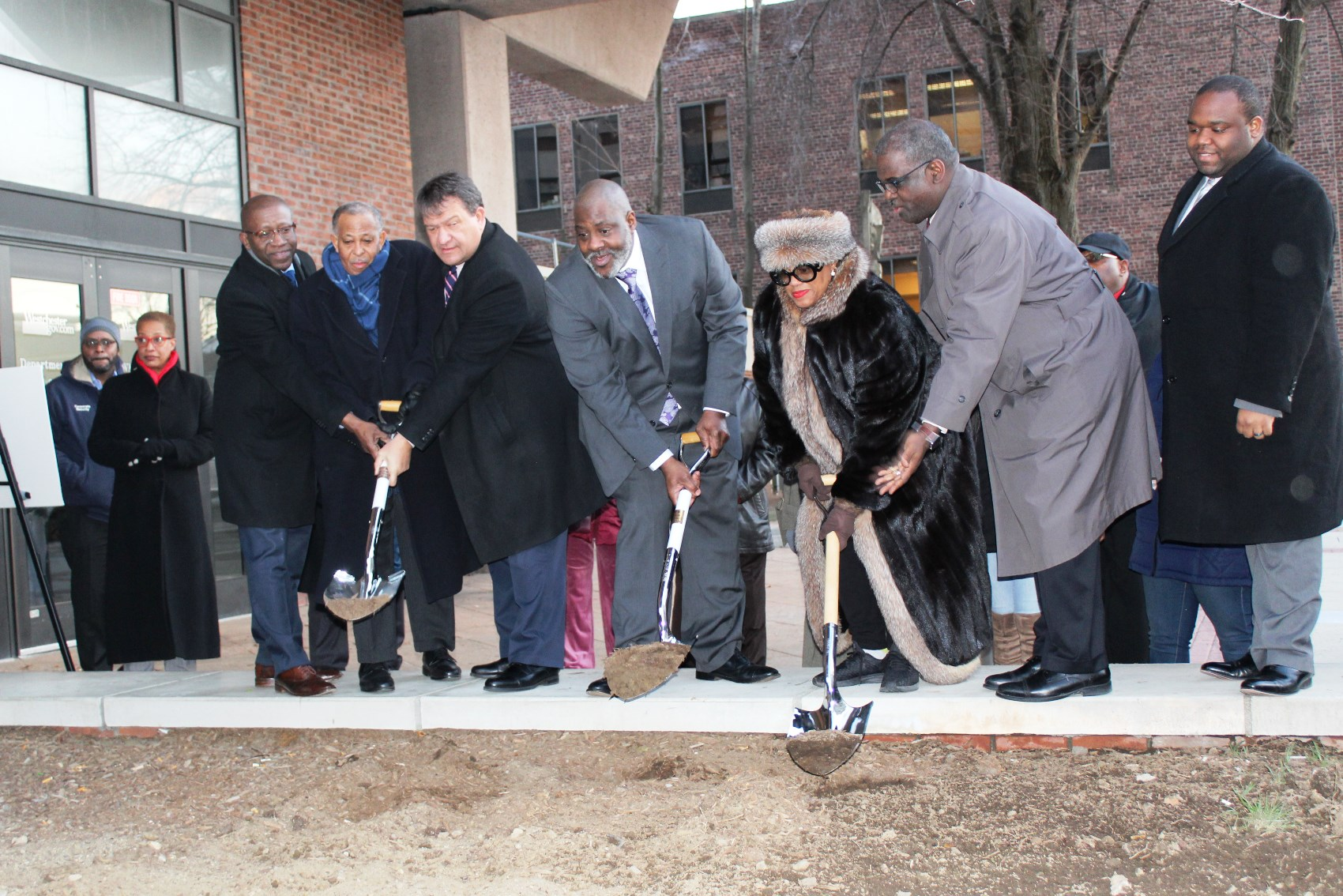 Christopher Ridley Groundbreaking